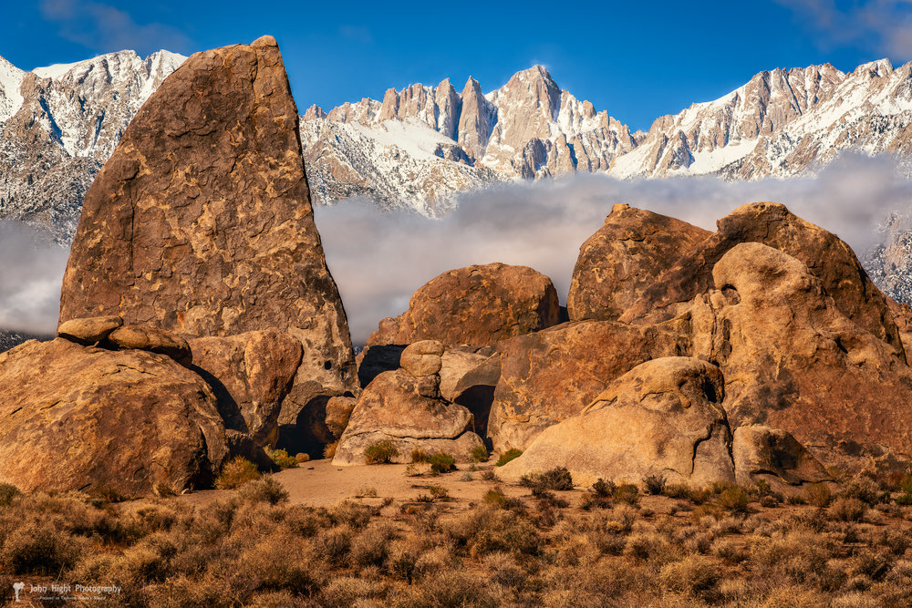 Alabama Hills' Shark's Fin