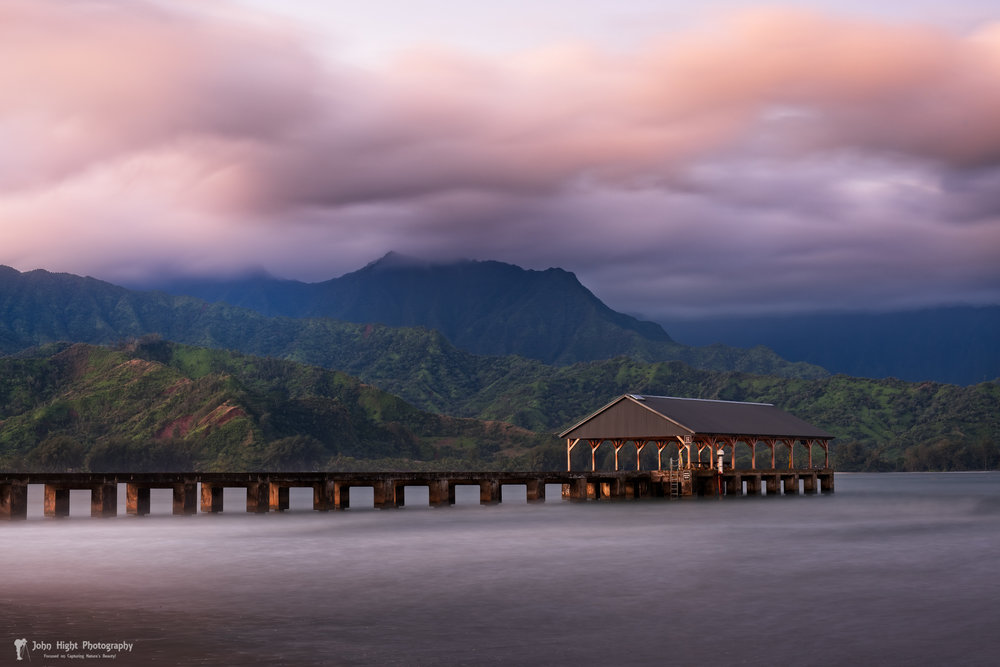Early Morning at The Hanalei Pier