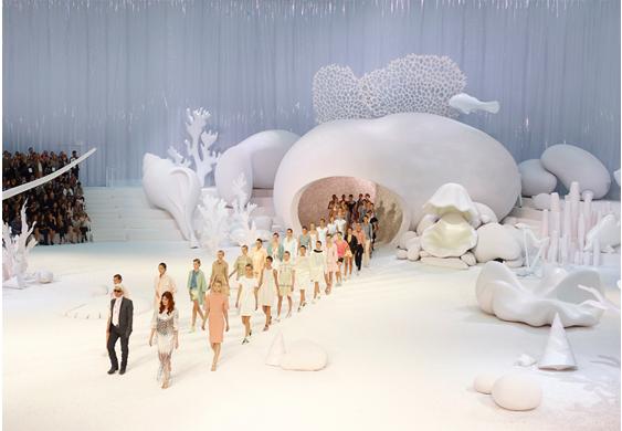Chanel Seabed Decor, Paris 2012