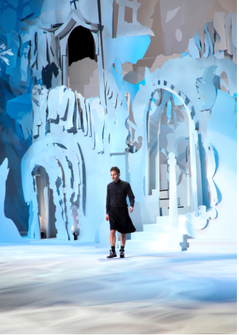 Paper Construction, Marc Jacobs, New York, 2014