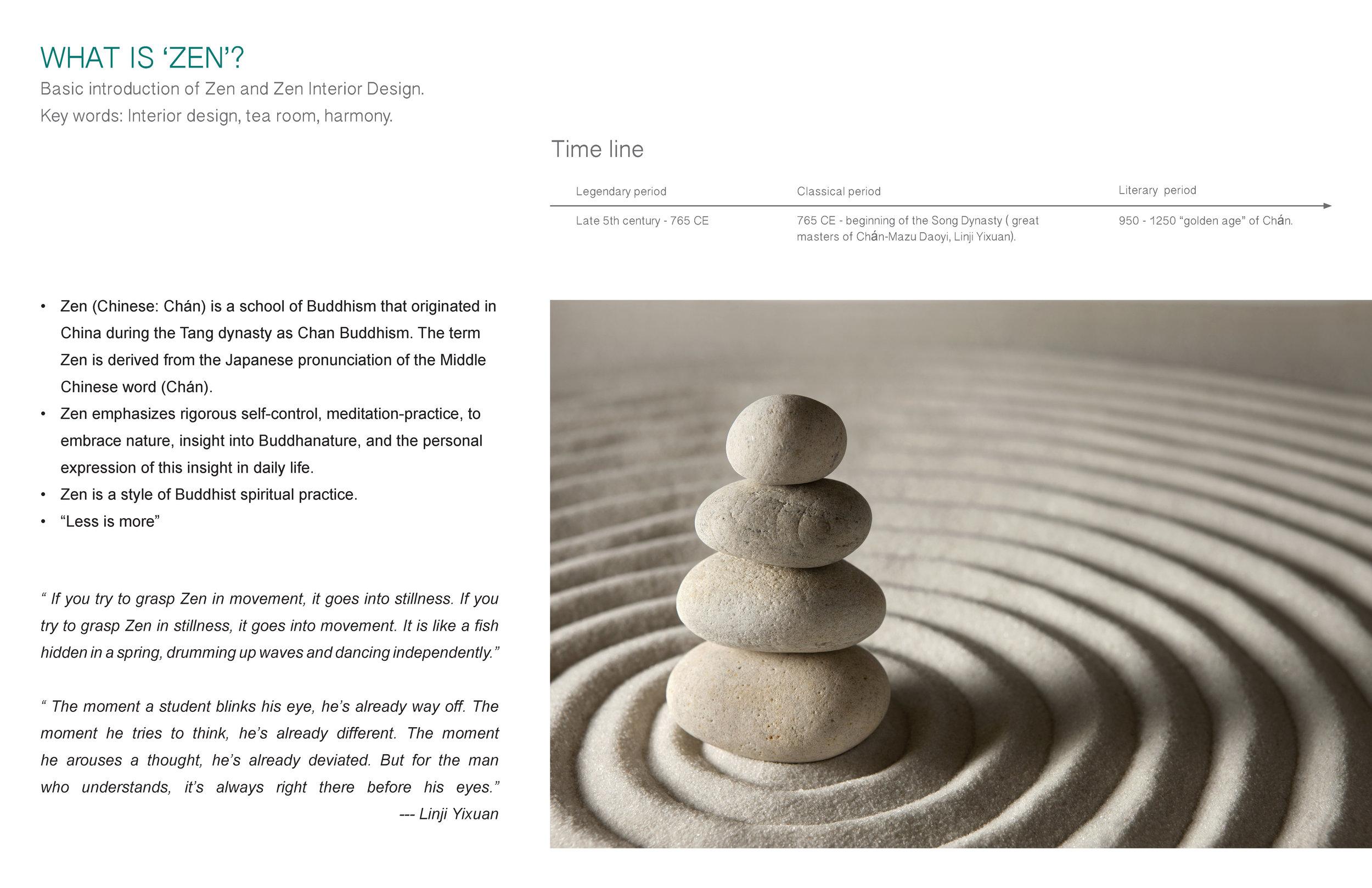What Is Zen Zen Interior Design Marie Burgos Design
