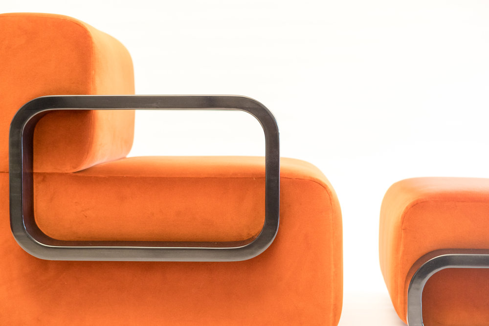 The Cayenne Lounge Chair and Ottoman