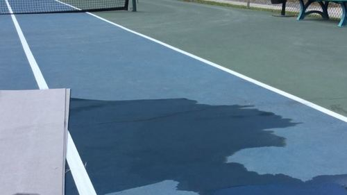 About The Product The Batt Tennis Court Drying Device