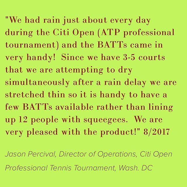 Looks like the Citi Open needs help from the Battowels again.  Rain rain rain.☂️