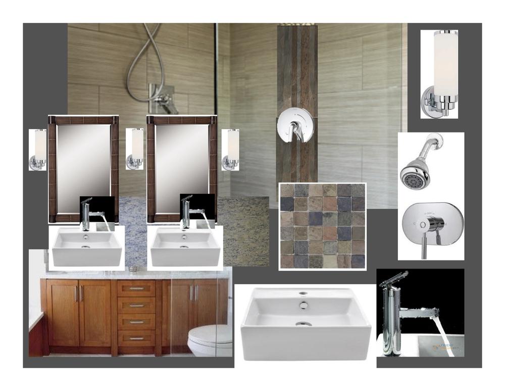 Bathroom Design Scheme