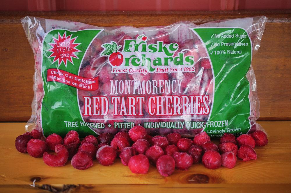 Friske Orchards frozen montmorency tart cherries