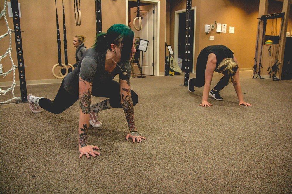 Women Exercise To Defeat Addiction