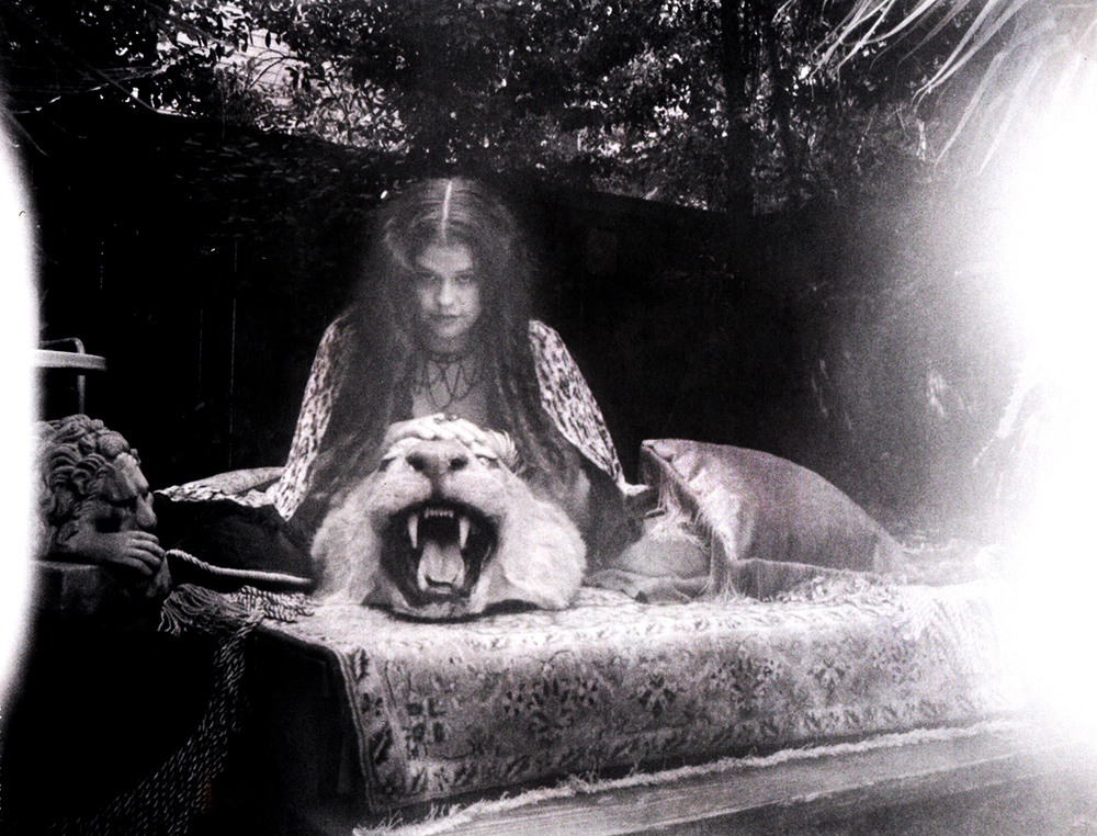 Theda with Lion