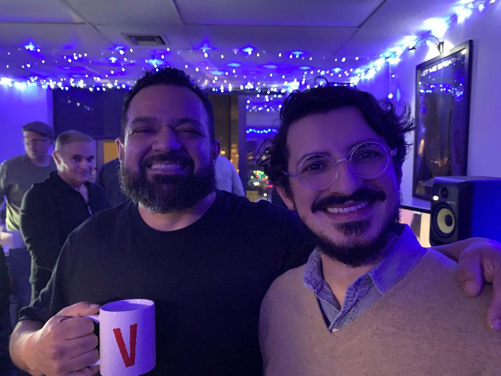 Les Correa & Elias Serpa