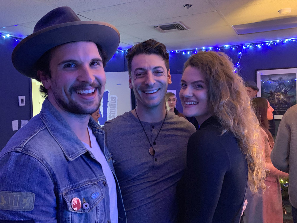 Nico Garafolo, Sonny Onorati, and Tayla Schaffner