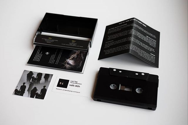 We now got Lost Tree tapes for sale at our webshop!  Thanks to the amazing @cactustapes ❤️ 20 left of our limited edition black tapes.  Young-mountain.com