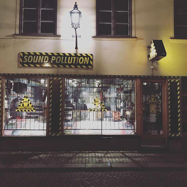 Nu finns vår nya skiva Lost Tree tillgänglig på @soundpollutionstore i Stockholm!