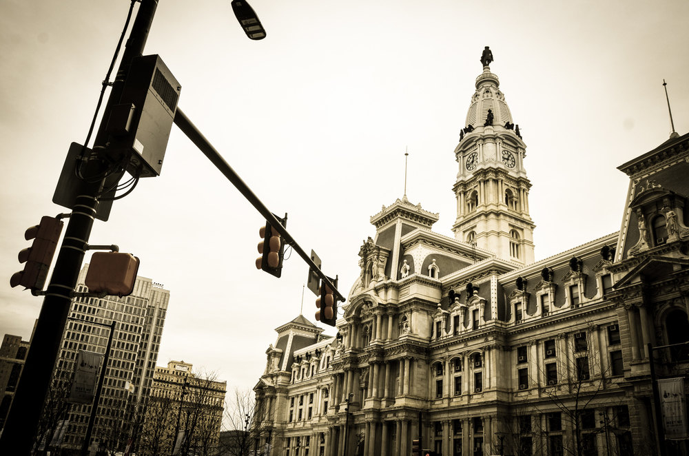 City Hall on a Winter's Day