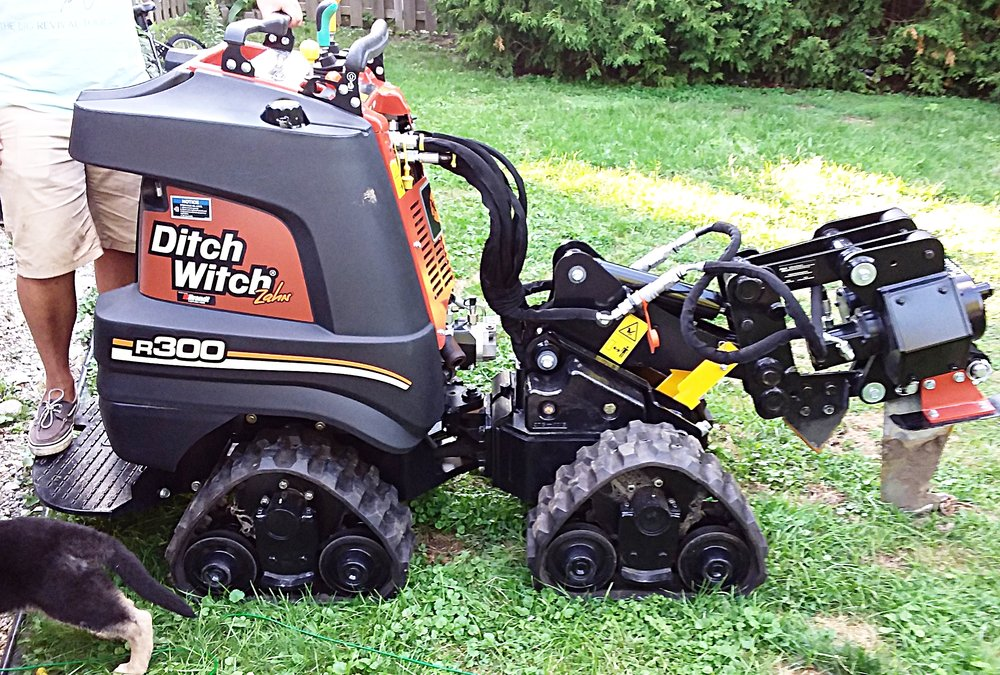 Ditch Witch Zahn R300