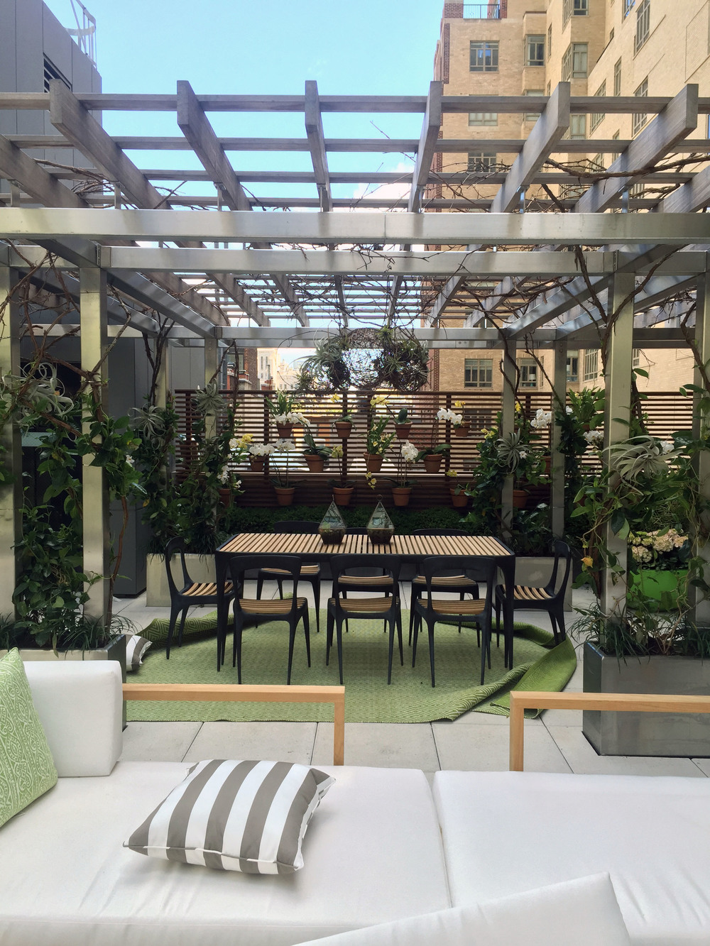 """Urban Oasis on the Roof"" by Hollander Design"