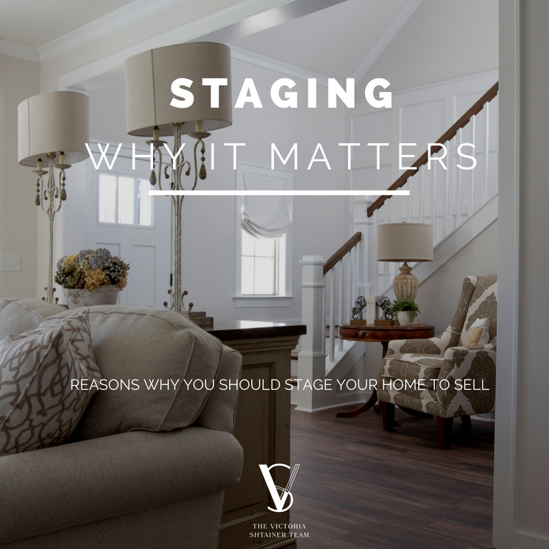 Reasons to Stage Your Home