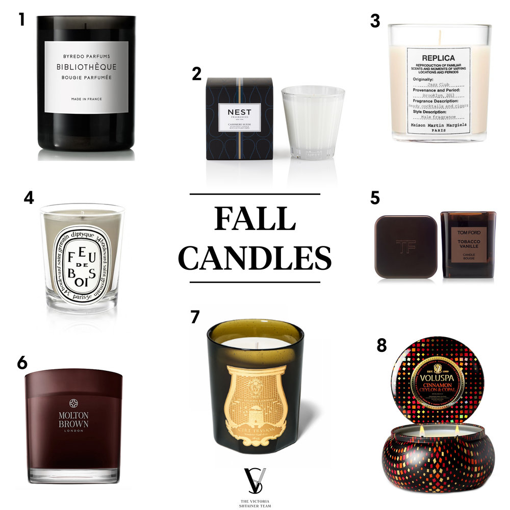 Best scents for fall