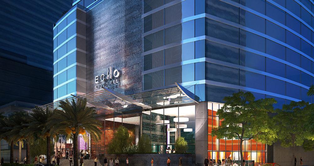 Echo Brickell Miami Luxury Condos
