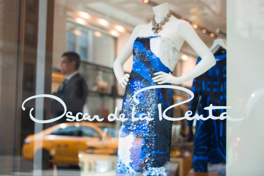 Oscar De la Renta Madison Avenue