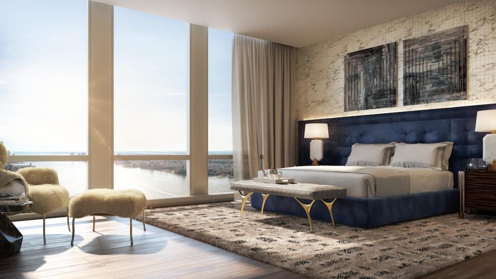 35 Hudson Yards Condo Bedroom