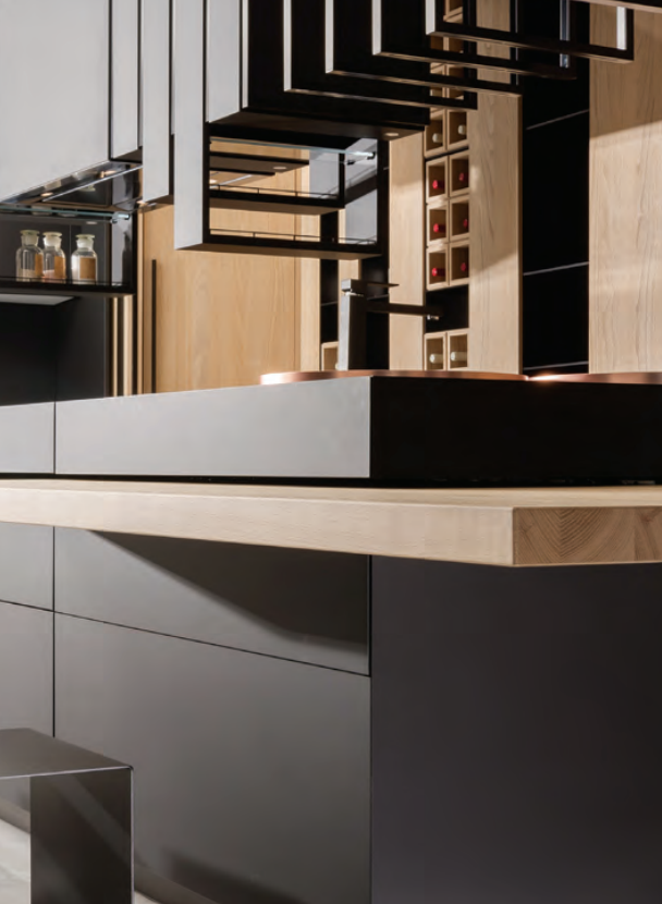 Northern Contours FENIX NTM Nanotech Matte Custom Cabinetry. For more info, see your local dealer.
