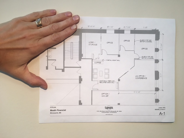 The New Office Plan for Kerry and her team