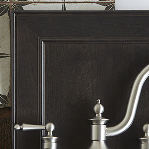 Dark Shaker Cabinet Door & Drawer