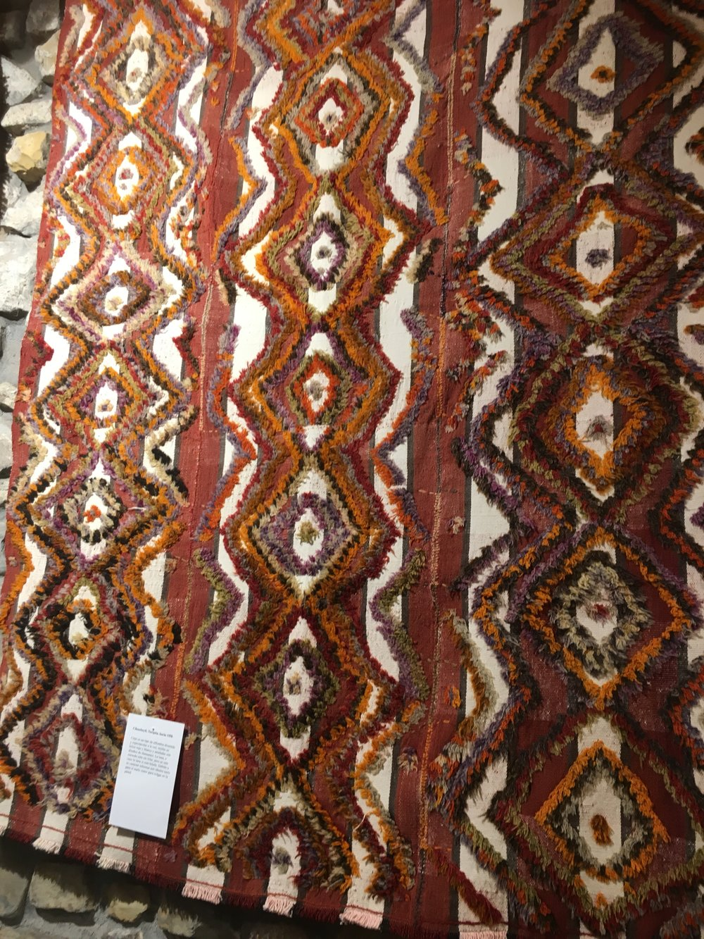 One of several hundred fabulous one-of-a-kind rugs at Nomada