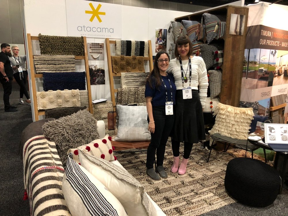 The Atacama Home booth at Dwell on Design Show.  Interior Design Trend: Pattern