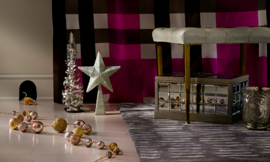 """'Twas the night before Christmas and all through the house, not a creature was stirring…"""" Creative Director Barbara Schmidt studiobstyle."""