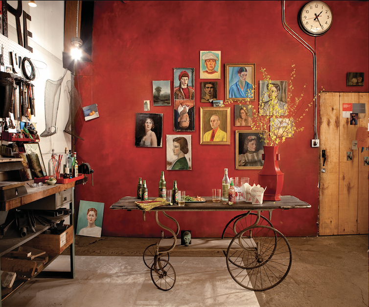 Photographer  Laurie Rubin ; Stylist Barbara Schmidt, studiobstyle
