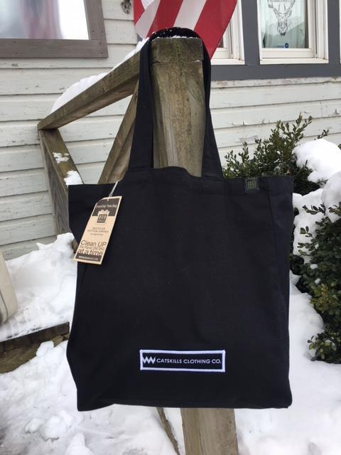 Eco Tote Bag black logo