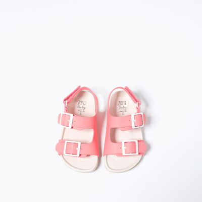 Girls' sandals, Zara, $19.99.