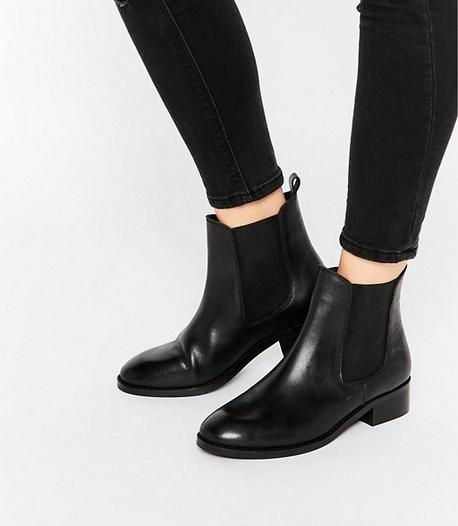 ASOS Chelsea Ankle Boots, $62; asos.com.