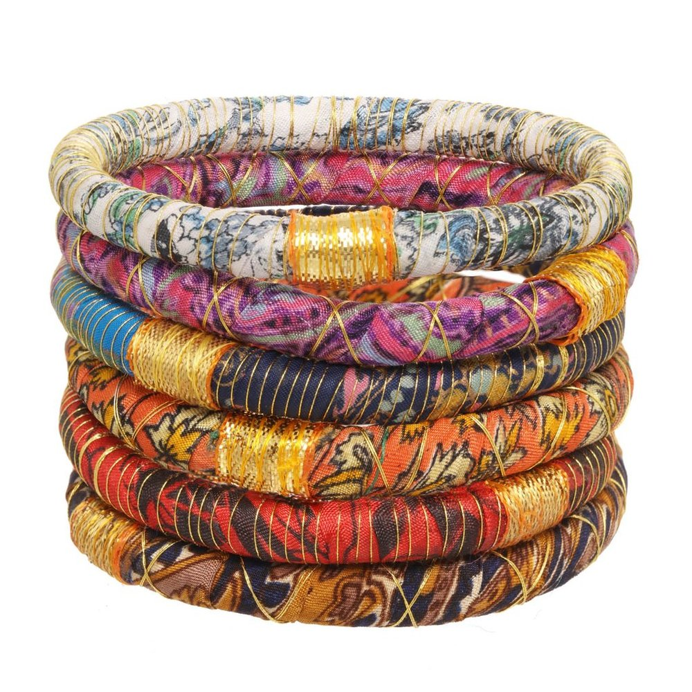 Kumari Bangles for one week of school, $55; rosenasammi.com.