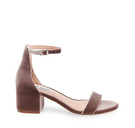 "Steve Madden ""Irenee-V"" block heels, $79.95; stevemadden.com."