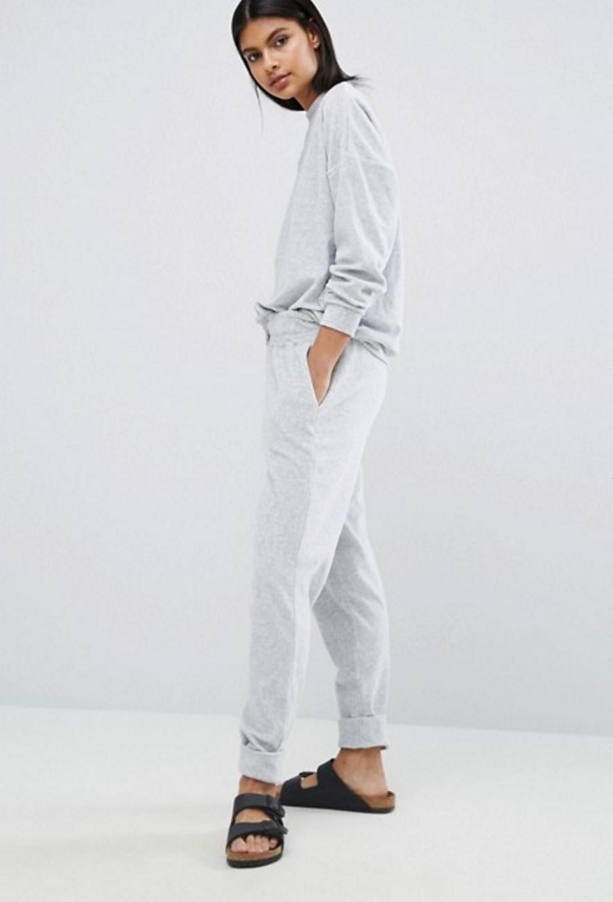 Y.A.S Lounge Grey Sweatpant, $43,   ASOS.com