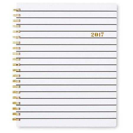 """I love lists, organizers and calendars and I could not survive without my planner. I love how this one ( $14.99 ) has the option to write down your to-do lists and reminders. This is a busy person's best friend!"""