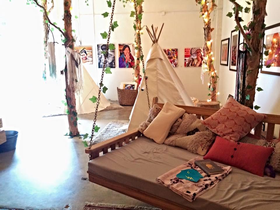Terapia con Animales sagrados en The Bodhi Tree House