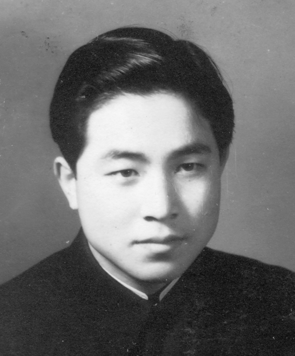 As a sophomore at Seoul National University, 1957