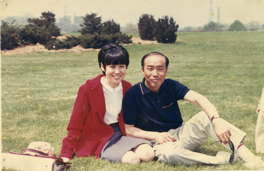 With Kook Dong Pae, 1960s