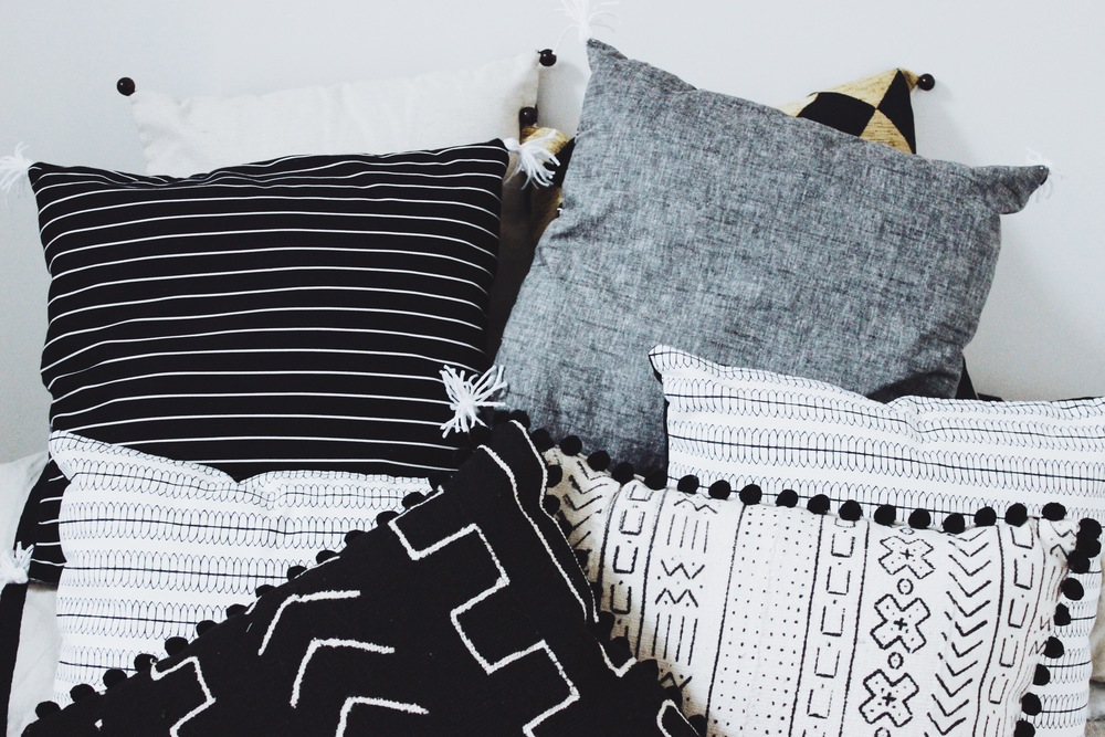 Pillows from the Wabi-sabi Collection