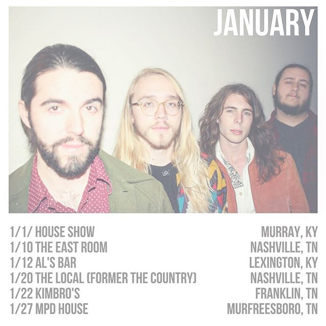 Here are some opportunities to fulfill your resolution. This is our updated schedule with the addition of a date at home in Murfreesboro to finish off the month! You can plan on dancin' #newsuede #newyear #january #shows