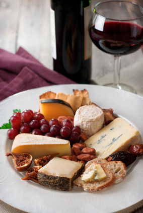 International Cheese Plate