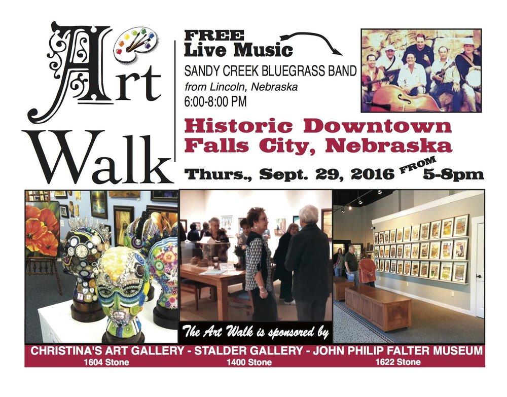Art Walk Invitation - See more information below
