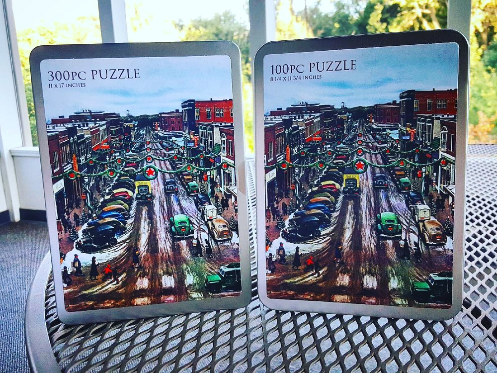 100 piece puzzle: $20  300 piece puzzle: $25  *shipping included*