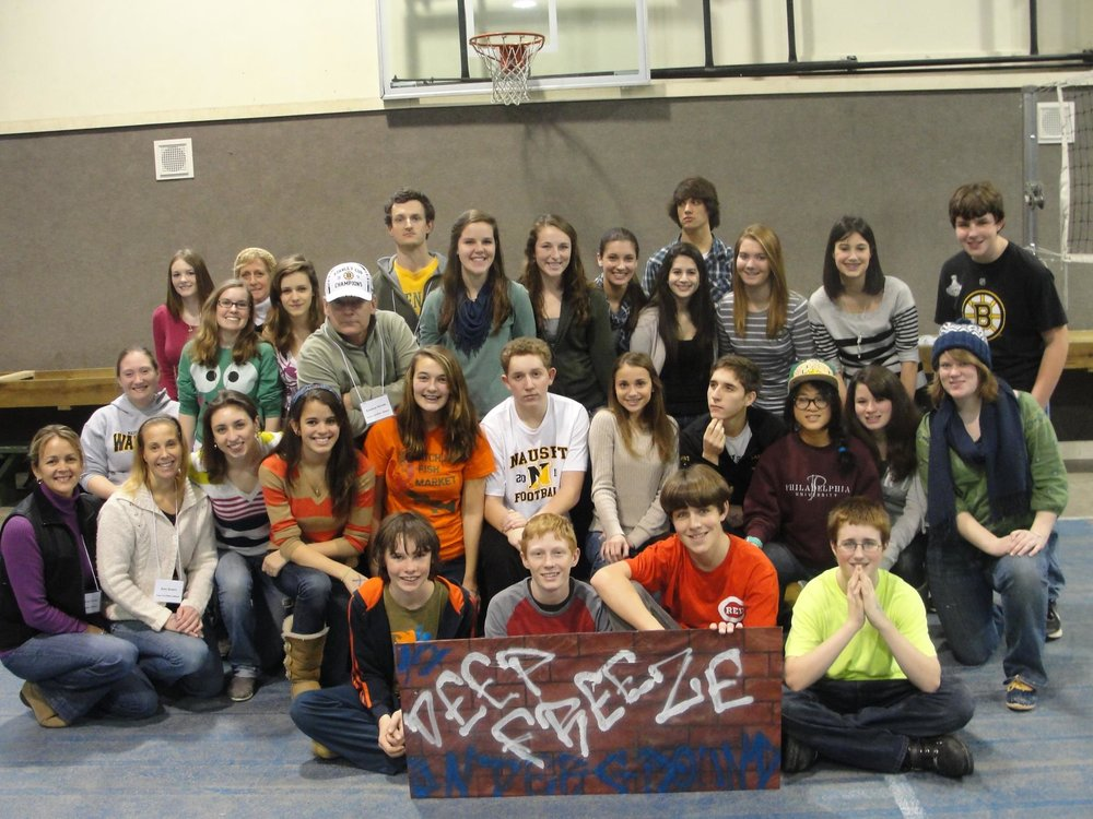 Throwback to 2012 -- Cape Cod Bible Alliance Church Sr. High. (at the time)