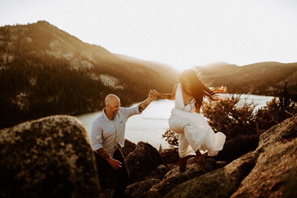 Lake Tahoe Wedding Elopement