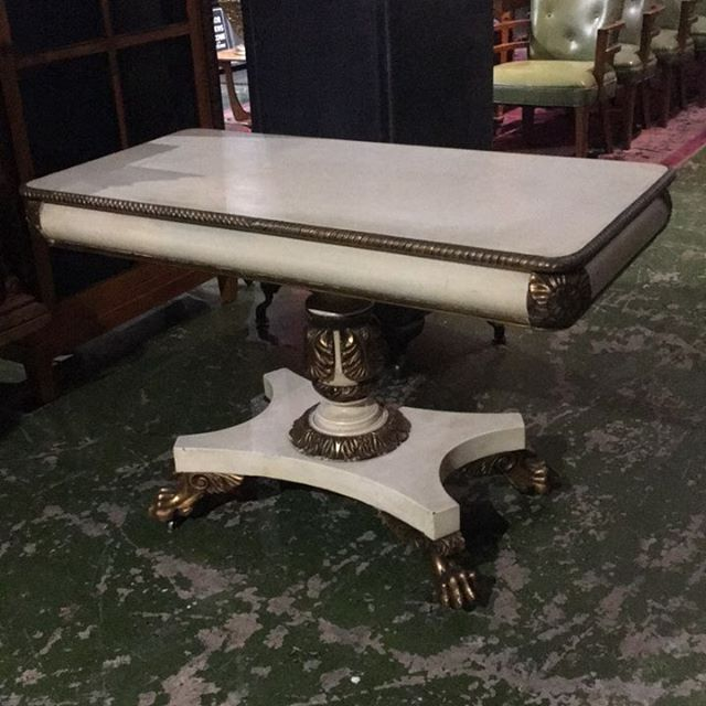 Excellent empire console/games table. $1350. #beautiful  #athideaway