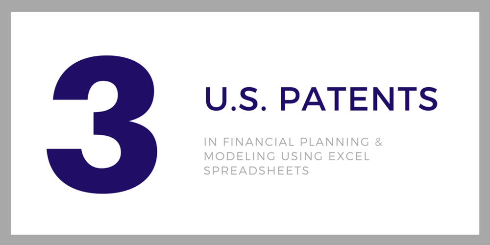 patents in financial planning and models